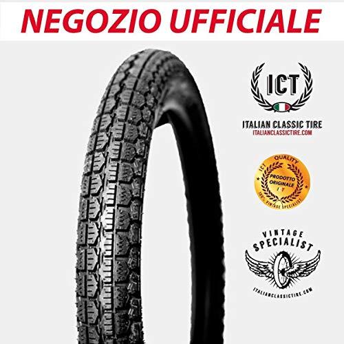 3.00-17 Pneu original Italian Classic Tire en caoutchouc pour moto d'époque 17 x 3 cm