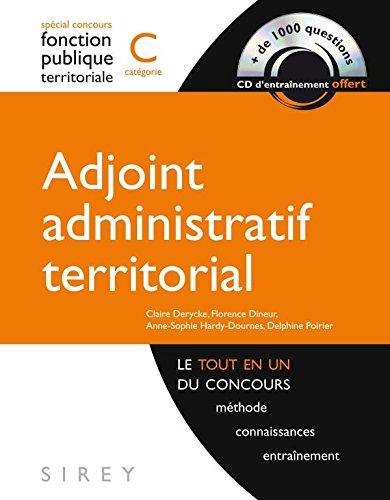 Adjoint administratif territorial - catégorie C - 1ère édition