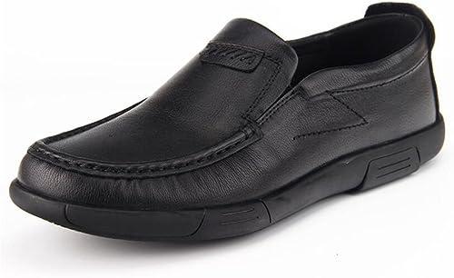 GFP 2018 Loafers, Frühling Herbst Lederschuhe, Walking Driving Schuhe, Casual Slip-on Oder Touch Schuhe, Mesh Bequeme Lederschuhe