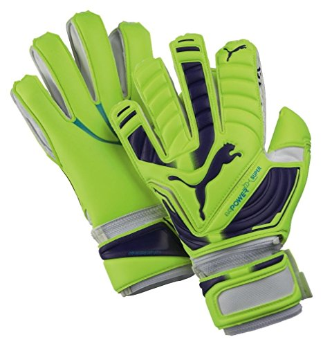 PUMA Handschuhe Evopower Super - Guantes de Portero para fútbol, Color Amarillo, Talla 10