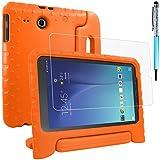 AFUNTA Funda Protectora para Samsung Galaxy Tab E 9.6 SM-T560 SM-T561 con Protector de Pantalla y...