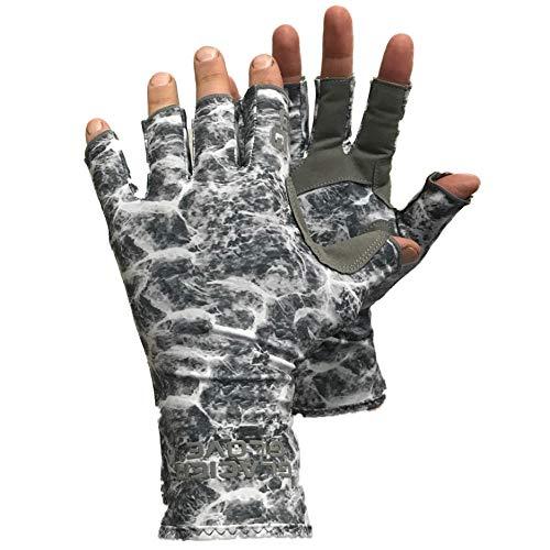 Gletscher-Handschuh Islamorada, Islamorada Sun Glove XL - Grey, Graues Wassertarn, X-Large