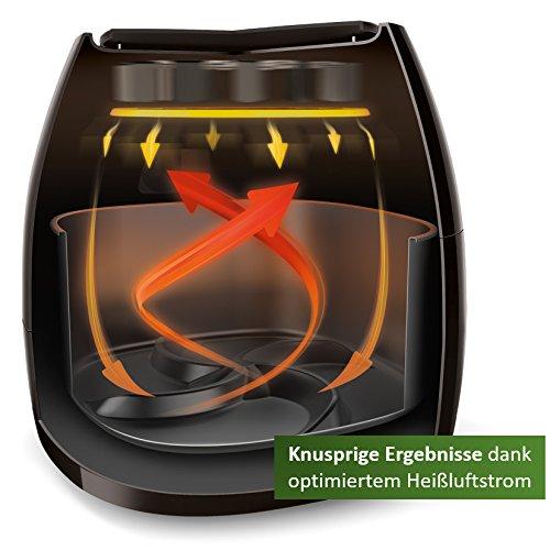 Philips HD9240/90 Airfryer XL Heißluftfritteuse, 2075 W – 2100 W, 1,2kg Kapazität, schwarz - 2