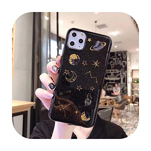 Schutzhülle für Samsung Galaxy A51 A71 A10 A20 A20e A20s A30 A30s A40 A50 A50s A70 A70s A80 A21 A21s A11 A31 A41, Cover-Black-A51