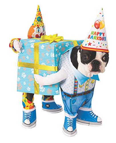 Rubie's Officieel verjaardagscadeau huisdier hond kostuum, maat L, 200 g
