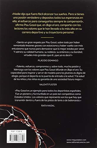 Sinopsis y Resumen del libro de Pau Gasol BAJO EL ARO