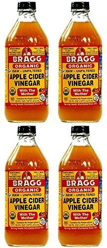 Braggs Apple Cider Vinegar x 4 (Pack of 4)