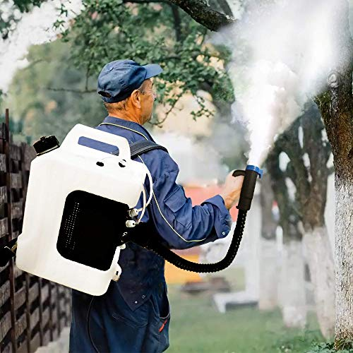 Sylvan ULV FOGGER Backpack Built-in HIGH Powered 1200w Electric Portable Cold Dual NOZZLES Sprayer