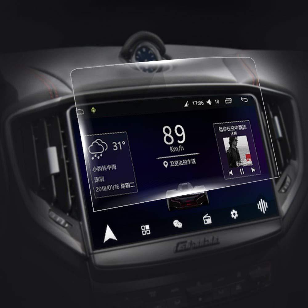 JXSMFXP Accesorios Coche Pantalla de navegación GPS Vidrio Templado Película Protectora de Acero. para Maserati Ghibli Quattroporte 2017 2018 2019: Amazon.es: Deportes y aire libre