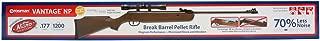 Crosman 30021 Vantage .177 Caliber Single-Shot Break-Barrel Pellet Air Rifle with Scope