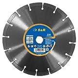 S&R Disco Tronzador Diamante 230 mm x22,2 para...