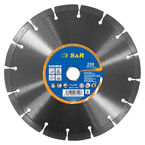 S&R Disco Tronzador Diamante 230 mm x22