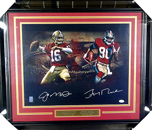 Jerry Rice San Francisco 49ers NFL Hand Signed 16x20 Photograph
