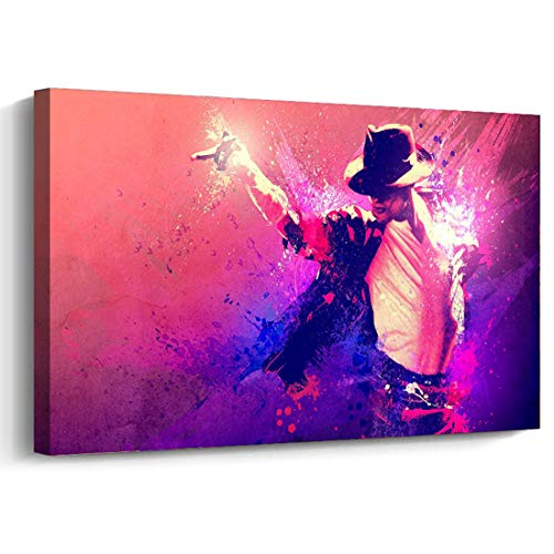 Michael Jackson Poster Frame Printed Canvas Painting