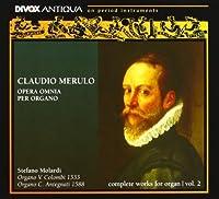 Opera omnia per organo, Volume 2 by Stefano Molardi (2012-11-05)