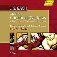 J. S. バッハ:待降節 & クリスマス・カンタータ集 (J. S. Bach : Advent & Christmas Cantatas / Rilling) (6CD Box)