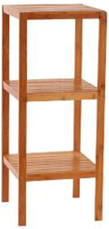 Bathroom Partition Shelf, Bathroom Floor Washbasin, Storage Shelf, Solid Wood Frame,Onecolor