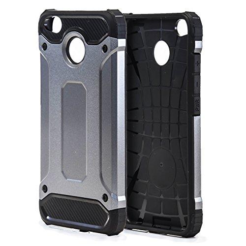 7.99 Funda Protectorapara Xiaomi Redmi 4X | TPU |en Gris | Anticaída