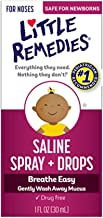 Little Remedies Little Noses Saline Spray-Drops 1 OZ (PACK OF 3)
