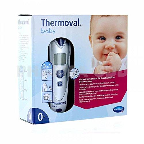 Hartmann - Thermoval Baby thermometro technologia Infra rojo - Medida SIN CONTACTO + Un HOCHET tout DOUX …