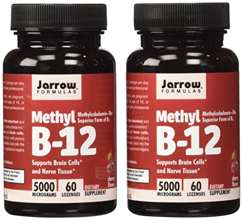 Jarrow Formulas Methyl B12, Methylcobalamin (2 X 60)