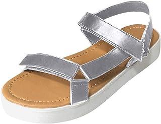 : Argenté Espadrilles Chaussures plates