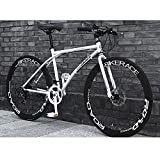 Suspensión de 26 pulgadas de acero al carbono de bicicletas de montaña 24 de velocidad de bicicletas MTB prima completa for hombres y mujeres carretera Frenos MTB de la bici con □□ engranajes de doble