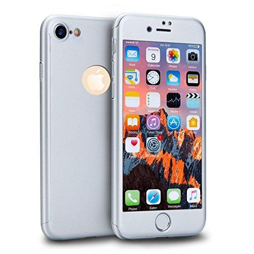 BelleCase - Carcasa para iPhone 5 y 5S se 360 grados +...