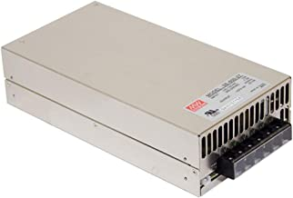 """Mean Well SE-600-15 Enclosed Switching AC-to-DC Power Supply, Single Output, 15V, 0-40A, 600W, 2.5"""" H x 5.0"""" W x 9.7"""" L"""