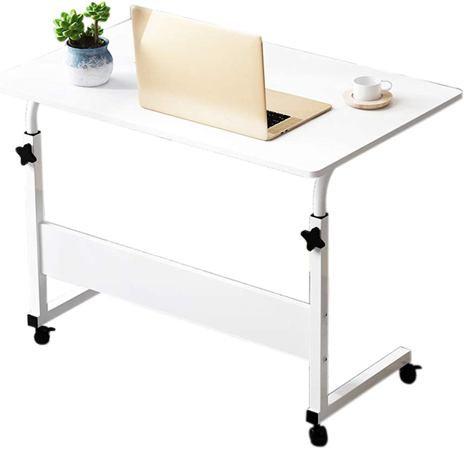 Mobile Laptop Desk, Lazy Table for Household Bed - Simple Lift Table - Stylish Small Desk