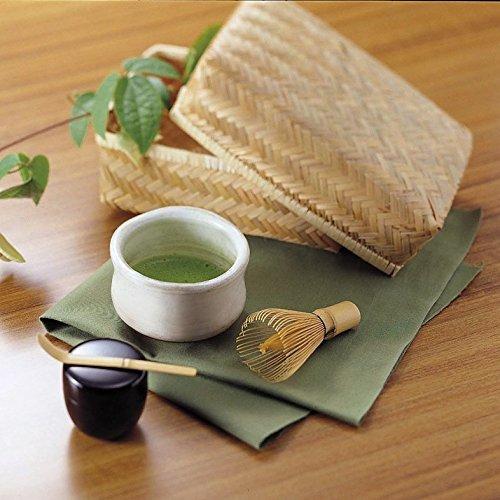 Juego de ceremonia de té japonés matcha (Hecho en Japón) (Verde)