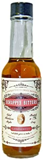 Scrappy's Bitters - Grapefruit, 5 ounces - Organic Ingredients, Finest Herbs an Zests, No Extracts, Artificial Flavors, Ch...