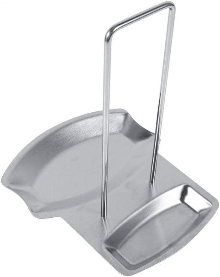 JPMELYRN Stainless Ranking TOP5 Steel Pot Lid Spoon Holder [Alternative dealer] Stand Rack
