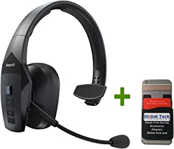 BlueParrott B550-XT Bluetooth Headset | Streaming Music, Apps | Compatible with iOS, Android | High Noise Environments and Extreme Temperatures - Trucker, Road Warrior, Warehouses, Construction, Fleet