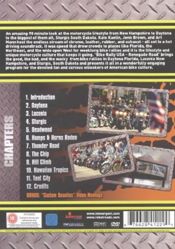 Renegade Road - Bike Rally USA [2006] [DVD]