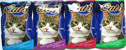 Mix Katzenfutter Diverse Sorten Pouchbeutel 264 x 100g