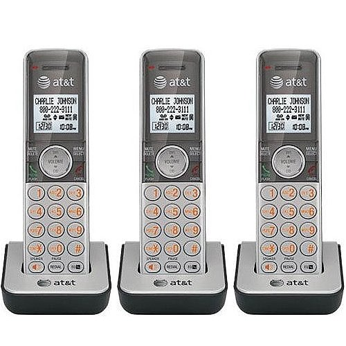 YBS AT&T DECT 6.0 Expansion Cordless Phones Handset with Caller ID for CL81, CL82 Series - 3 Pack