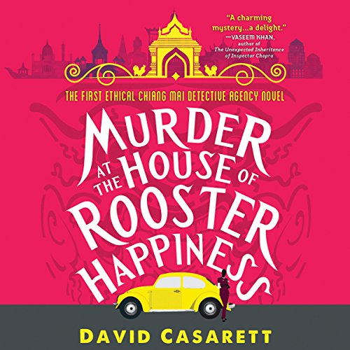 Murder at the House of Rooster Happiness audiobook cover art