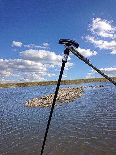 "SuperStick Shallow Water Anchor Pin, 5/8"" x 7', Black"
