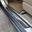 HJHNB 4 Stücke Auto Einstiegsleisten Für Mitsubishi ASX 2011-2020, Trim Scuff Pedal Schwellenabdeckung Schutz Trim Zubehör, Edelstahl