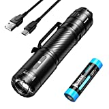 WUBEN Super Bright LED Torch 1200 Lumens Powerful Tactical Flashlight USB Rechargeable Pocket