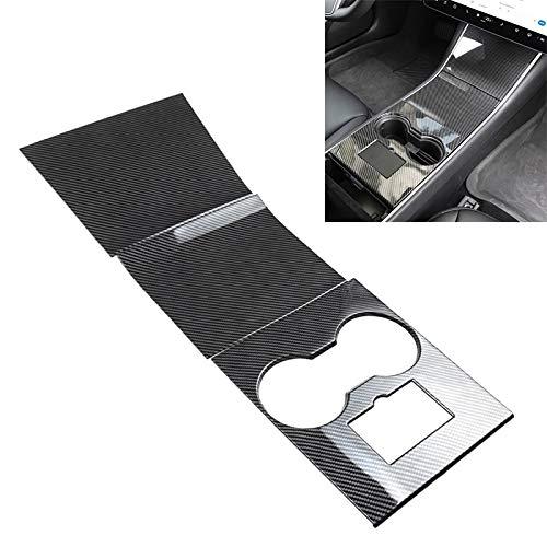 XUAILI auto-interieurstrips autocentrale besturing decoratieve stickers autoaccessoires, geschikt voor Tesla Model 3
