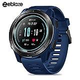 Zeblaze Vibe 5 Smartwatch IP67 Reloj Deportivo a Prueba de Agua Monitor de Ritmo cardíaco Monitor de Ritmo cardíaco Podómetro Actividad Inteligente para Hombres y Mujeres para iOS y Android