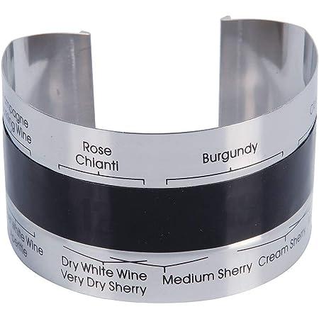 OUYOU ワイン温度計 ステンレススチール 赤ワイン 温度センサー