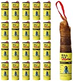 8. 20 Pack Fruit Fly Traps Indoor, Sticky Fly Strips Catcher, Gnat Killer Indoors/Outdoors