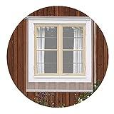 RZEMIN Cortina Enrollable Transparente, Cortinas Impermeables PVC Transparente Para Ventanas, Puertas Cocina Balcón Patio Interior Exterior, Personalizable (Color : Claro, Size : 120cmx110cm)