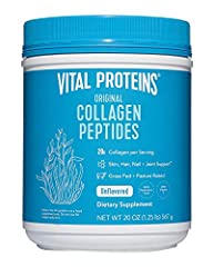 BIOAVAILABLE COLLAGEN: Digested and absorbed by the body quickly for maximum benefits. HEALTH BENEFITS: Improves hair, skin, nails, joints and ligaments, and tendon health.* QUICK DISSOLVING & EASY TO USE: Soluble in hot or cold liquids, including co...