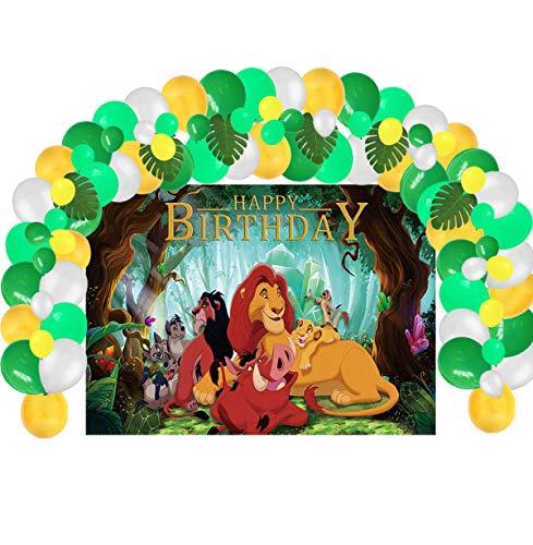 Lion King Backdrop and Balloon Kit