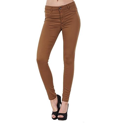 76bf2129519 BHS Ladies Stretch Denim Look Womens Skinny Leggings Cotton Slim Jeggings