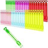 com-four® 48x pequeñas Barras de Burbujas en Colores Coloridos - para Bodas con asa...